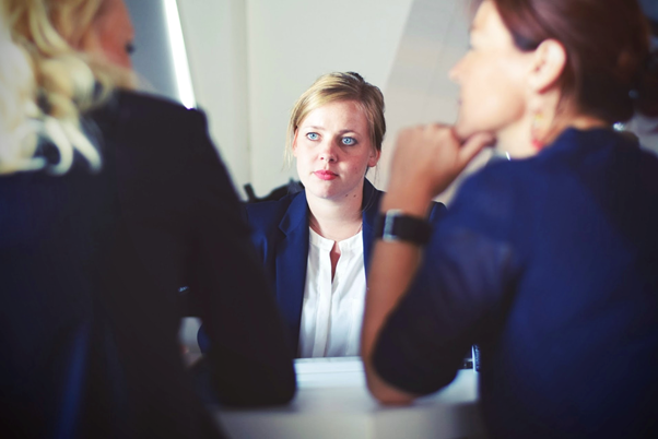 communicating in a job interview